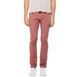 J Brand NEW $185 Red Mens Jeans 30 Tyler Slim Fit